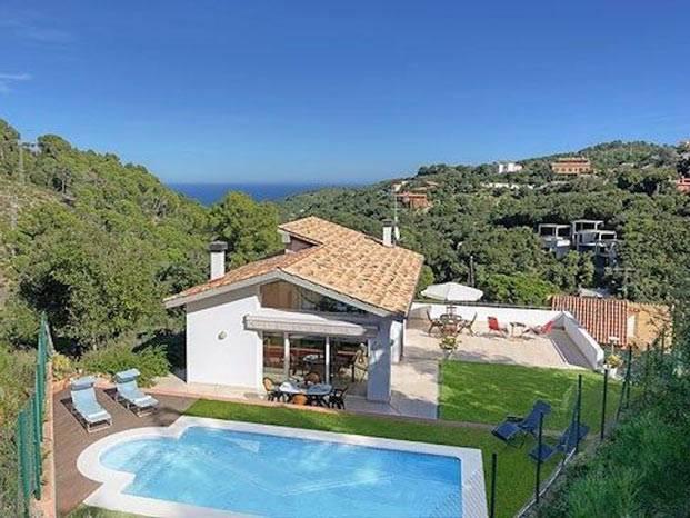 Location villas begur costa brava de 200 villas ab villa - Location begur avec piscine ...