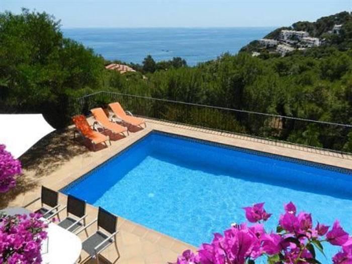 image, villa piscine Tamariu Costa Brava