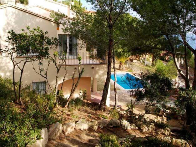 image, villa Tamariu piscine