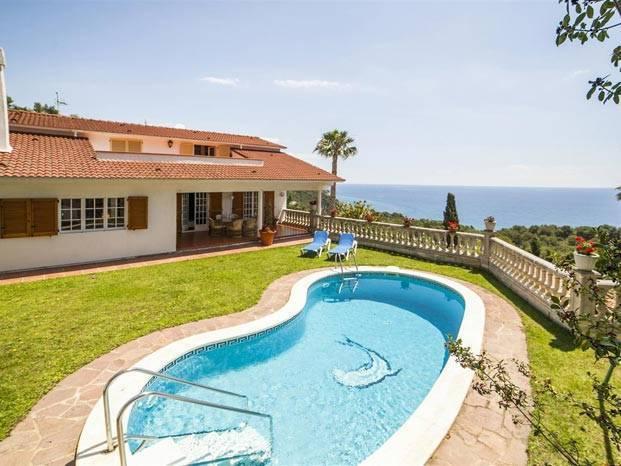 location villa blanes costa brava pour 12 personnes - Location Villa Piscine Costa Brava