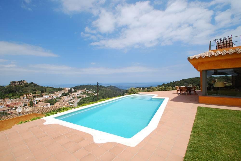 villa avec belle vue mer louer begur costa brava - Location Villa Piscine Costa Brava