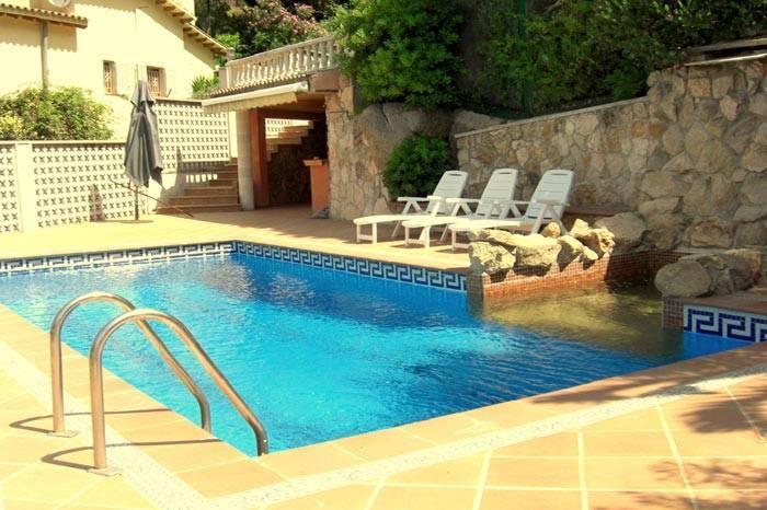 Maison de vacances avec piscine priv e lloret de mar for Location maison costa brava avec piscine
