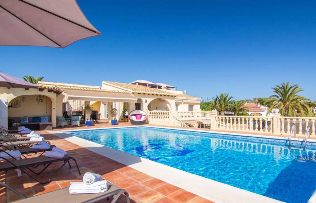 Maison a louer calpe espagne ventana blog - Location villa espagne piscine privee ...
