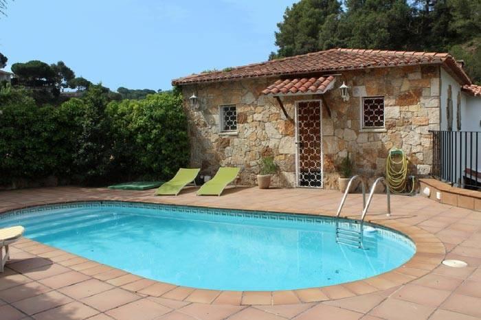 Location maison avec piscine priv e lloret de mar for Location villa espagne avec piscine privee costa brava