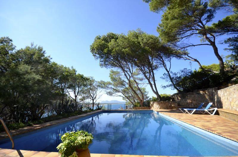 Location maison avec vue mer pour 10 personnes sa riera - Location begur avec piscine ...