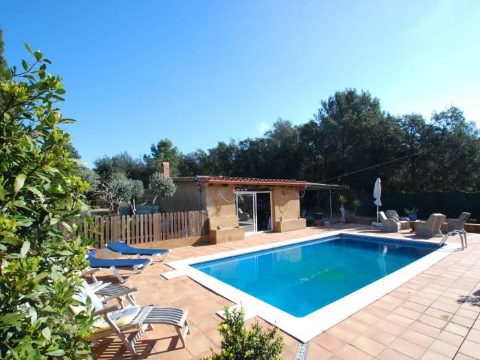 Villa avec piscine priv e pour 8 personnes begur begur - Location begur avec piscine ...