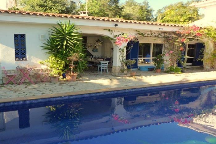 Villa avec piscine a louer pour 13 personnes lloret de - Location costa brava avec piscine ...