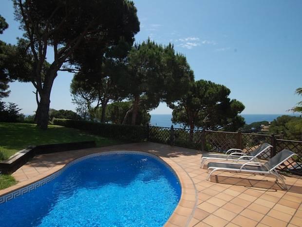 belle villa cala sant francesc blanes costa brava - Location Villa Piscine Costa Brava