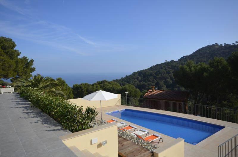 Belle villa pour 10 personnes avec piscine louer begur - Location costa brava avec piscine ...